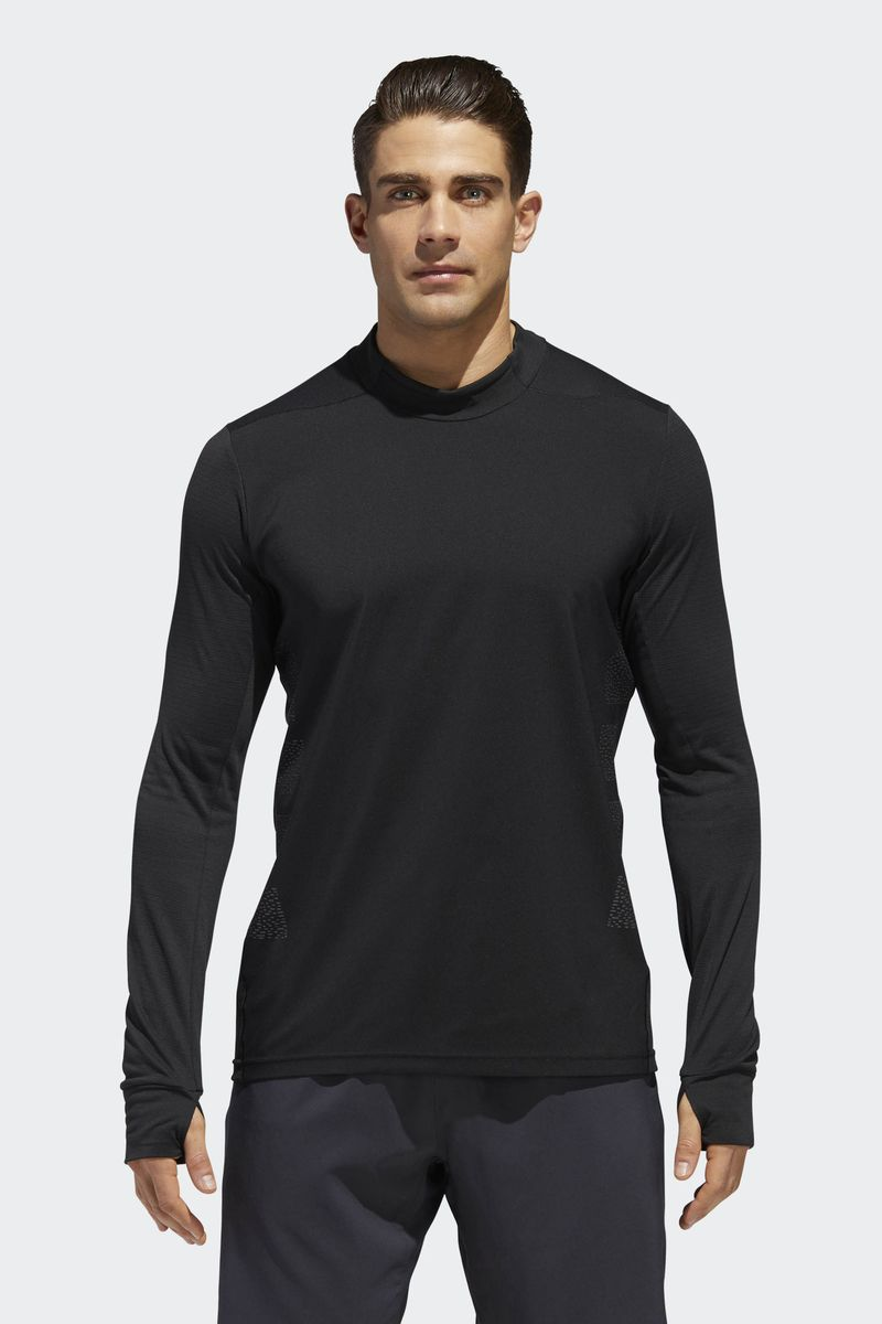 цена на Футболка мужская Adidas Supernova Tee, цвет: черный. CY5810. Размер XL (56/58)