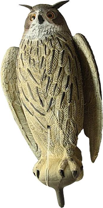 Чучело Birdland Филин, цвет: серый цена