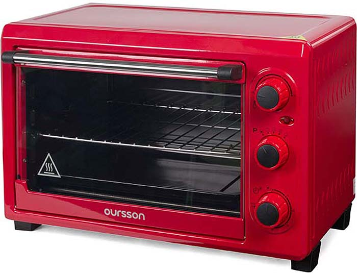 Мини-духовка Oursson MO2610/RD, Red мультиварка oursson mp5015psd rd