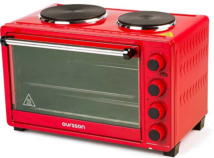Мини-духовка Oursson MO3030/RD, Red мультиварка oursson mp5015psd rd