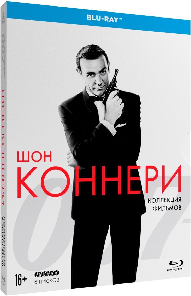 Коллекция 007: Шон Коннери (6 Blu-ray) хоббит трилогия режиссерская версия 6 blu ray 3d 9blu ray