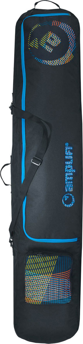 Чехол для сноуборда Amplifi 2018-19 Drone Bag, цвет: черный, 158 см чехол для сноуборда svarga standart цвет grey cell размер 165 см