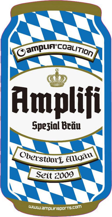 Наклейка на сноуборд Amplifi 2018-19 Can Stomp, spezial, цвет: синий, белый наклейка