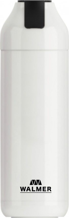 Термос Walmer Energy, с фильтром, цвет: белый, 400 мл термокружка walmer eco cup цвет розовый 400 мл