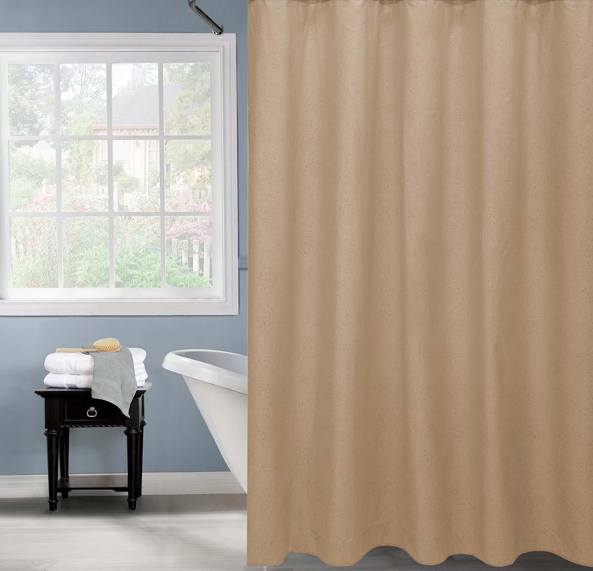 Штора для ванной Swensa Salvo, цвет: бежевый, 180 х 200 см штора для ванной swensa анкона цвет бежевый 180 х 180 см