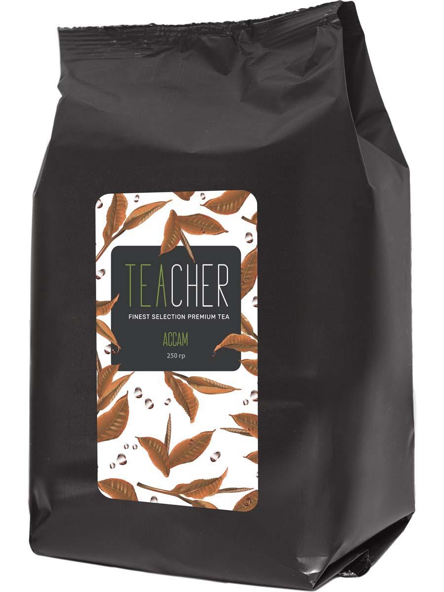 Чай черный листовой Teacher Ассам, 250 г чай черный листовой teacher ассам 250 г