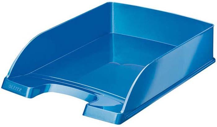 Лоток бумаг Leitz Wow, цвет: синий