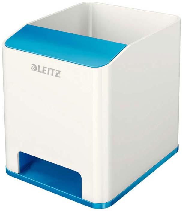 Подставка для канцелярских принадлежностей Leitz WOW, цвет: синий, белый товары для дома