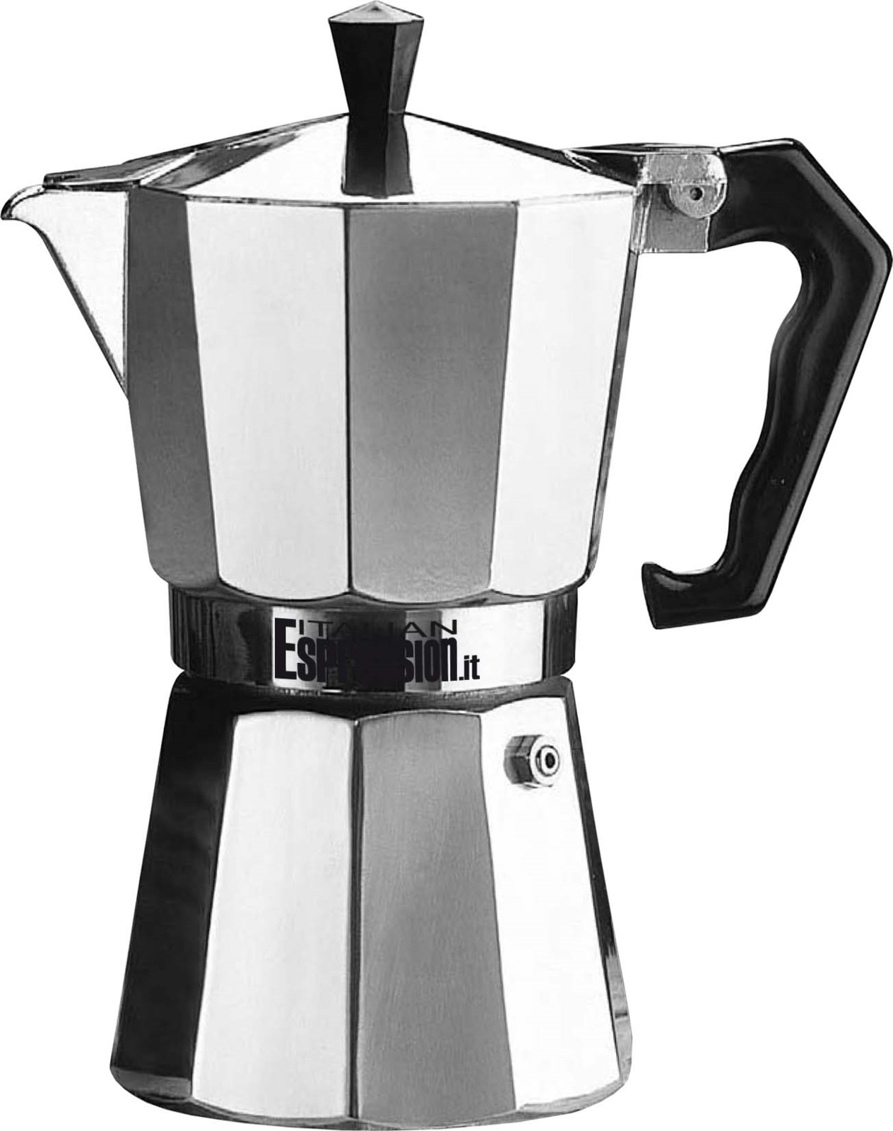 Кофеварка гейзерная G.A.T. 104106 PEPITA. Гейзерная кофеварка - это отличная возможность побаловать себя чашечкой великолепного ароматного кофе. Кофеварка рассчитана на 6 чашек. За считанные минуты прибор приготовит ваш любимый напиток и моментально наполнит кухню изумительным ароматом. Прочная основа придает кофеварке легкость и надежность, а стильный дизайн добавит кухонному интерьеру элегантности и особого шарма. Основные отличительные особенности кофеварок ORZIERA BARLEY: удобный носик для наливания кофе; специальное внутреннее покрытие, обеспечивающее легкую очистку и обслуживание; ручка из термостойкого пластика.