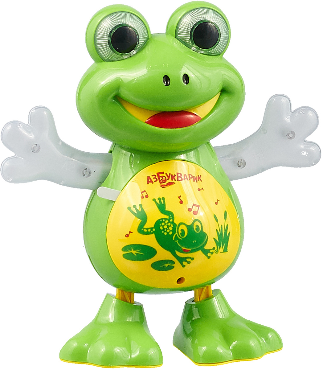 Музыкальная игрушка Азбукварик Танцующая лягушка