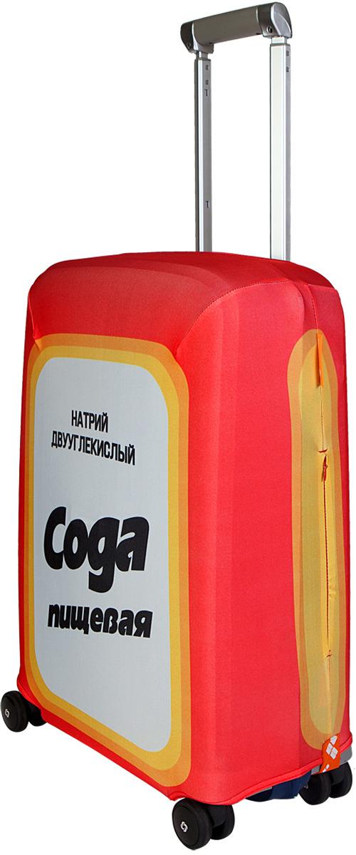 Чехол для чемодана Routemark Сода цвет: красный, размер S