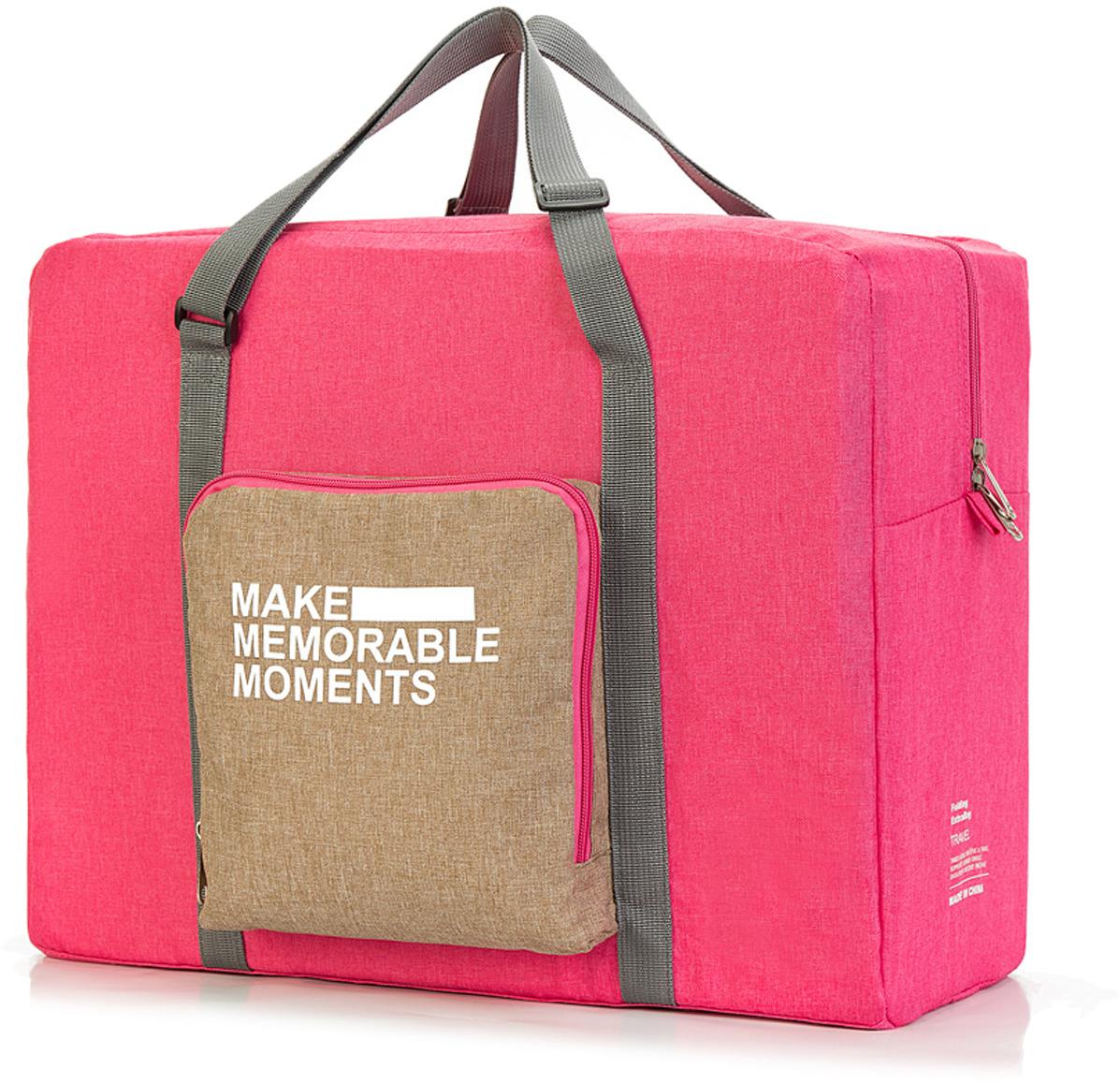 Сумка дорожная Routemark TFB01, цвет: розовый