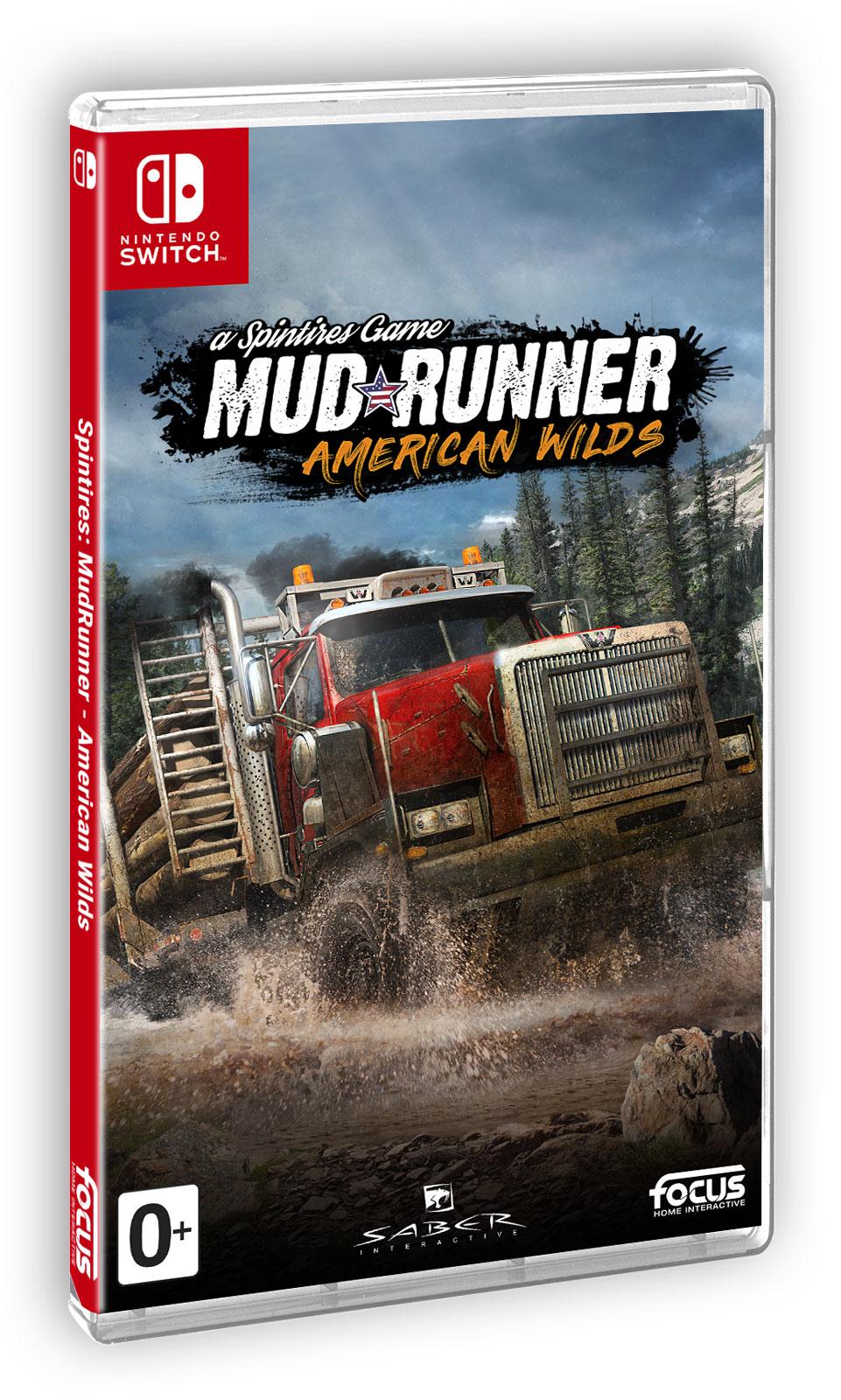 Spintires: MudRunner American Wilds (Nintendo Switch), Saber Interactive