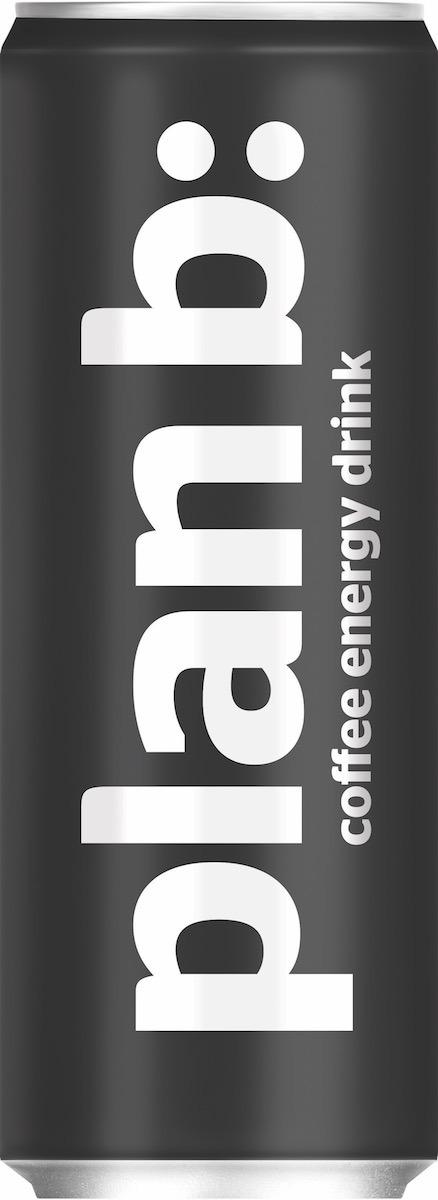 """Энергетический напиток Plan B """"Энергия Кофе"""", безалкогольный тонизирующий, газированный, PlanB"""