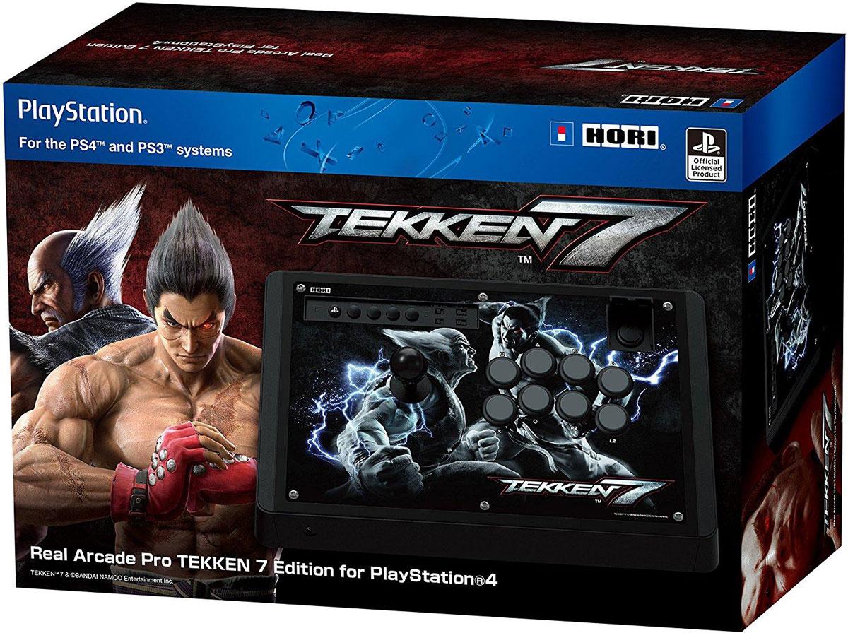 Hori Real Arcade Pro TEKKEN 7 Edition аркадный стик для PlayStation4 hori real arcade pro tekken 7 edition аркадный стик для playstation4