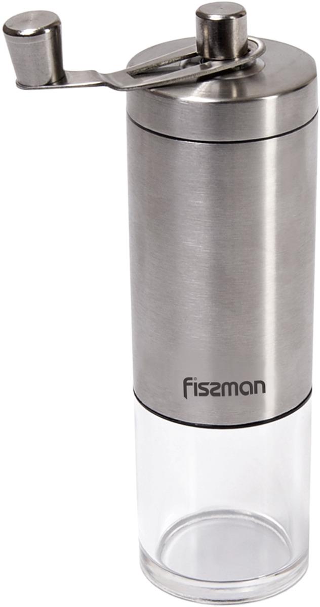 Считается, что молоть кофе лучше прямо перед приготовлением, чтобы сохранить неповторимый аромат и вкус кофейных зерен. Небольшая ручная кофемолка позволит смолоть кофе как раз на одну варку, а современный дизайн отлично впишется на любую кухню.  Ручная кофемолка Fissman имеет комбинированный корпус из нержавеющей стали и пластика, с керамическим механизмом для помола. Удобная и практичная кофемолка, добавит яркие краски вкуса свежемолотого кофе. Не желательно мыть в посудомоечной машине.