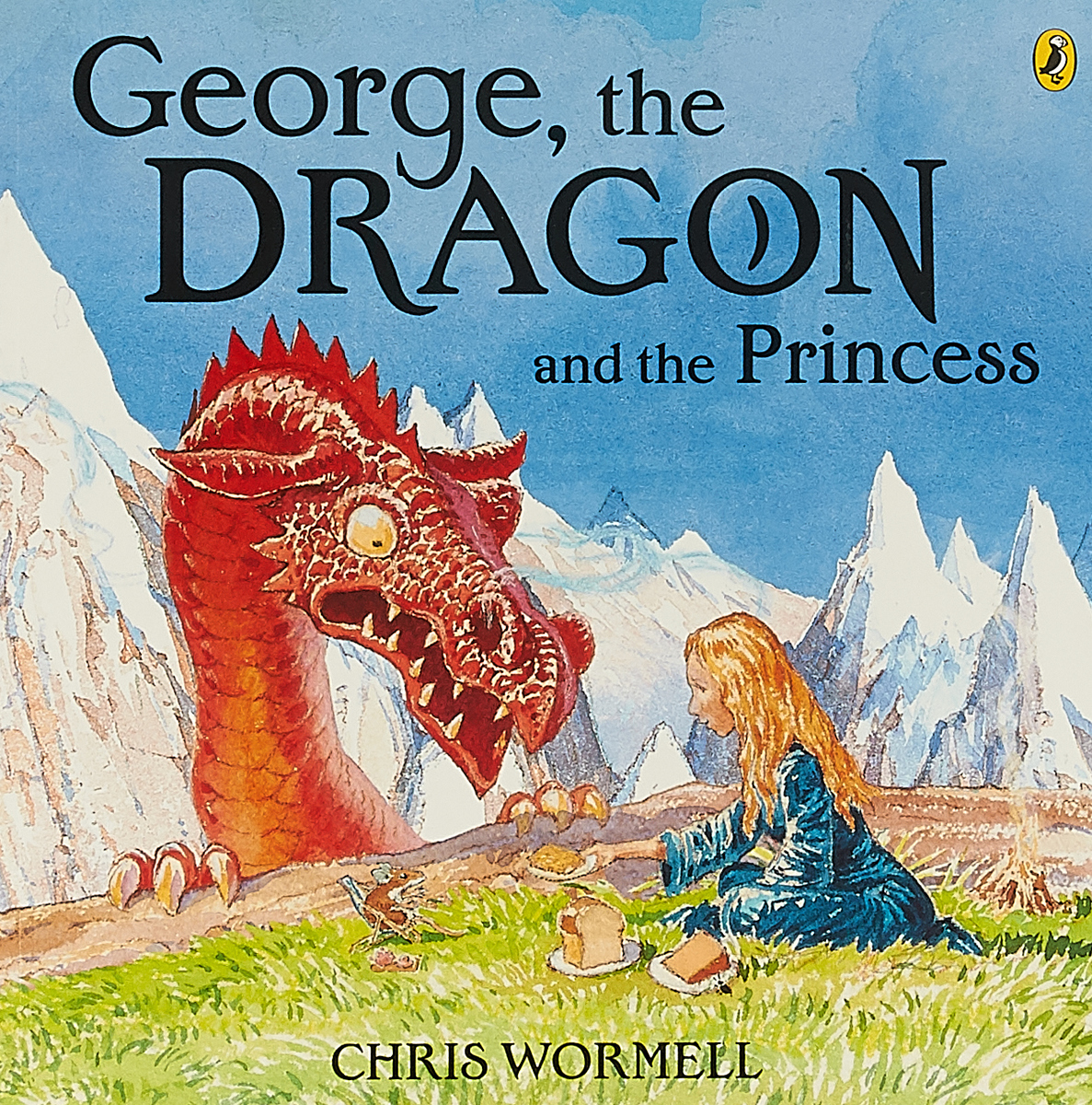 George the Dragon and the Princess the bear and the dragon