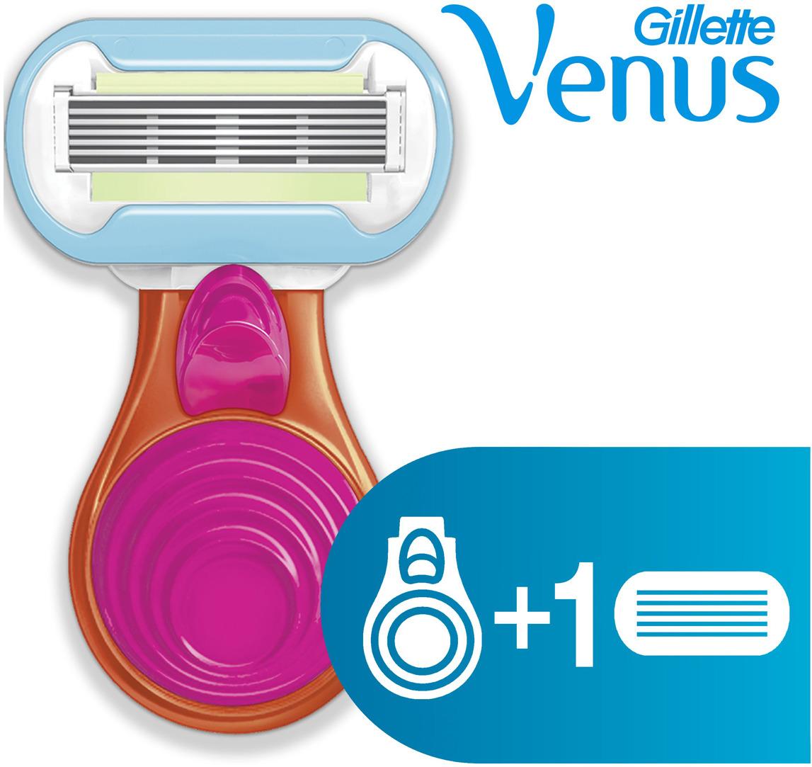 Женская бритва Gillette Venus Snap с 1 сменной кассетой