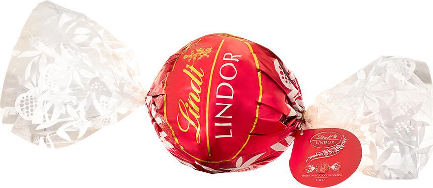 Конфеты Lindt Lindor. Макси-болл, молочные, 550 г шоколеди тайна искушения конфеты шоколадные 195 г