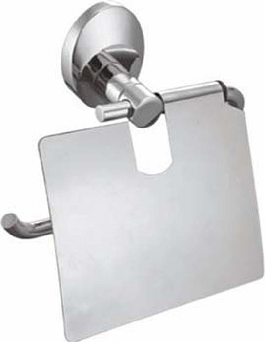 Держатель для туалетной бумаги Fixsen Europa, с крышкой, цвет: серебристый. FX-21810 бумагодержатель без крышки fixsen europa fx 21810b