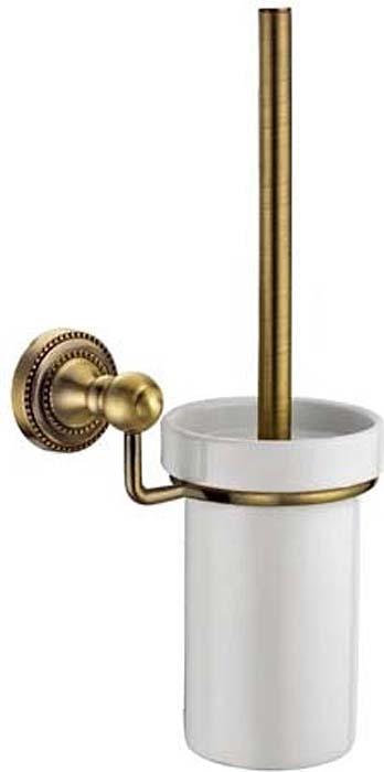 Ершик для унитаза Fixsen Antik, цвет: бронза. FX-61113 держатель для полотенец fixsen antik трубчатый цвет бронза 60 см fx 61101