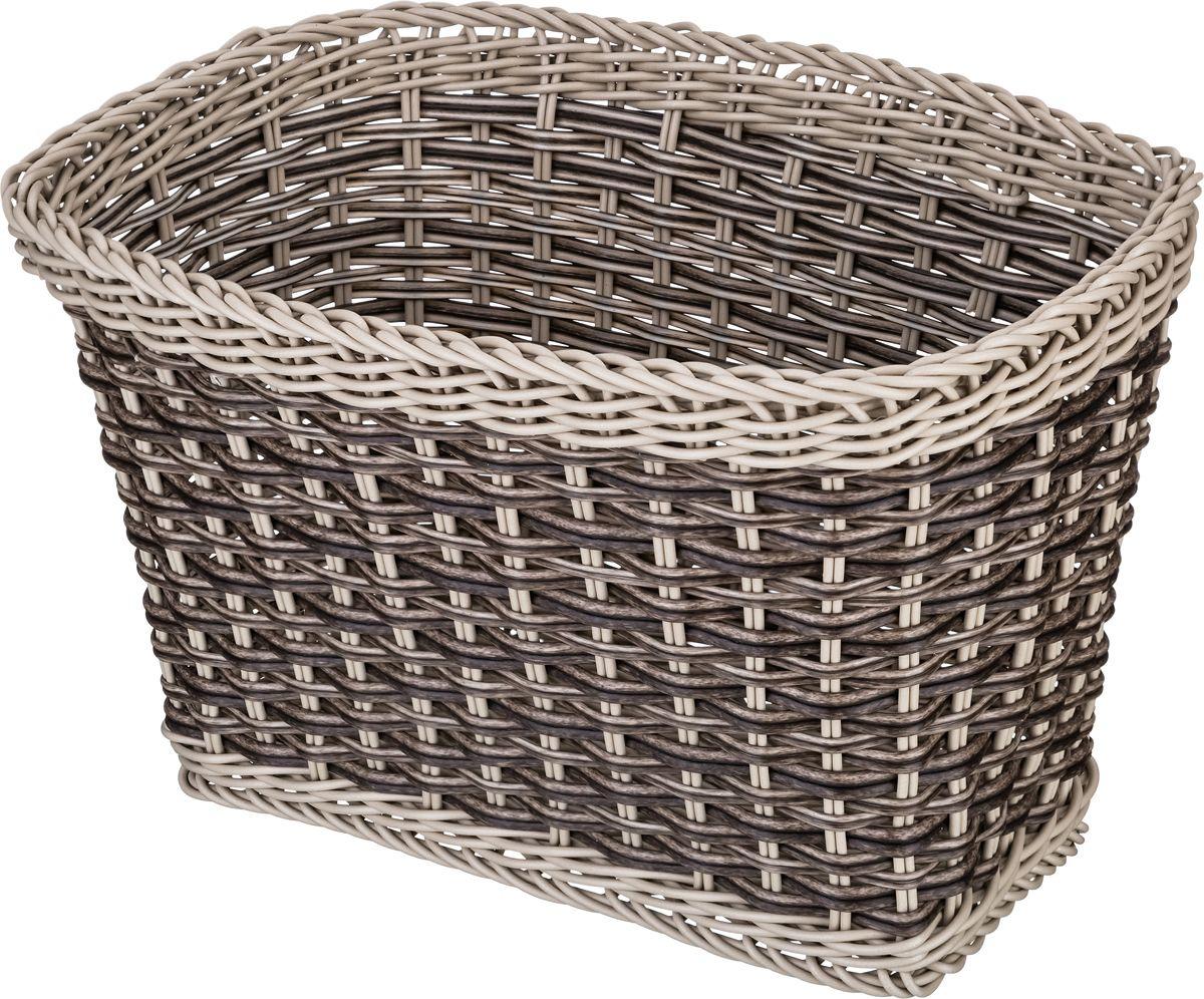 Корзина для мелочей Lefard, цвет: коричневый, 25 х 15 х 16 см контейнер для мелочей violet цвет белый 16 х 17 х 18 см