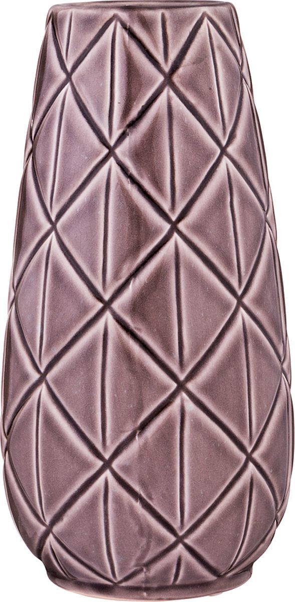 Ваза Lefard, цвет: сиреневый, 13 х 13 х 25,5 см lefard ваза eldora 26 см