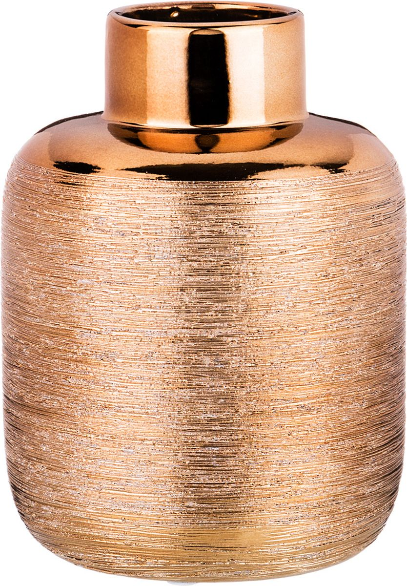 Ваза Lefard, цвет: бронзовый, 11,8 х 11,8 х 15,5 см lefard ваза eldora 26 см