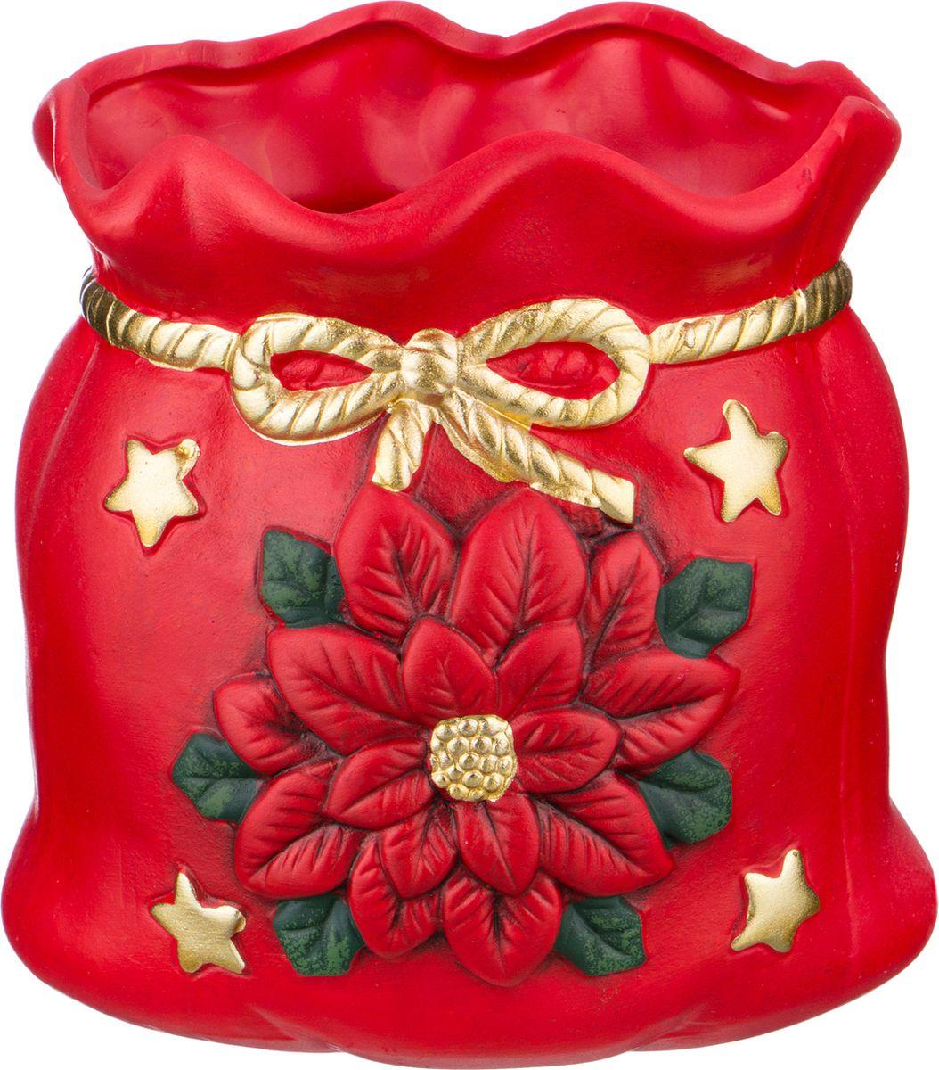Ваза-кашпо Lefard, цвет: разноцветный, 12 х 9,5 х 12,5 см. HP145-Z-W36 ваза кашпо pavone сумочка высота 16 см