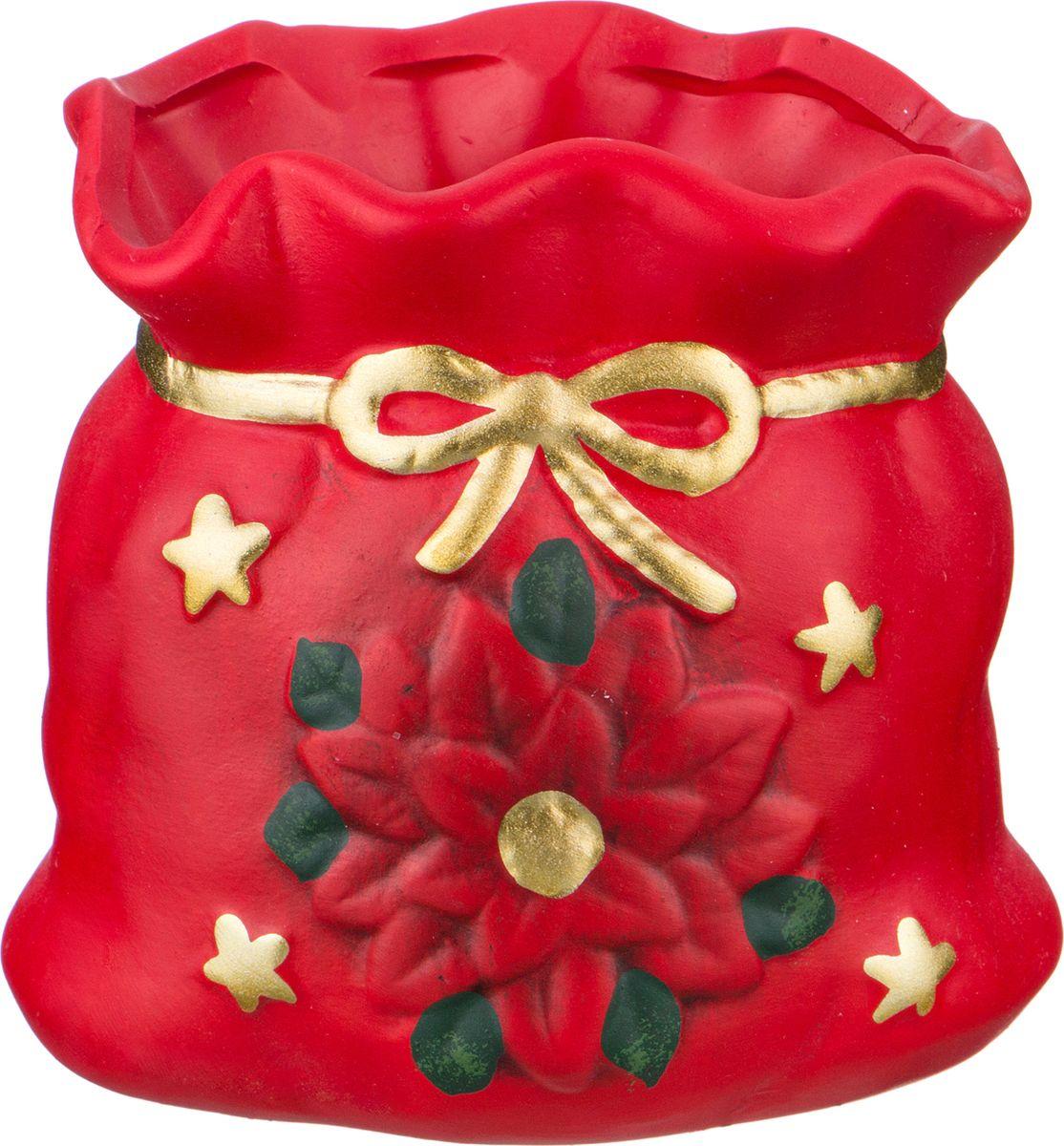 Ваза-кашпо Lefard, цвет: разноцветный, 9,5 х 7,5 х 9,5 см. HP126-WC ваза кашпо pavone сумочка высота 16 см