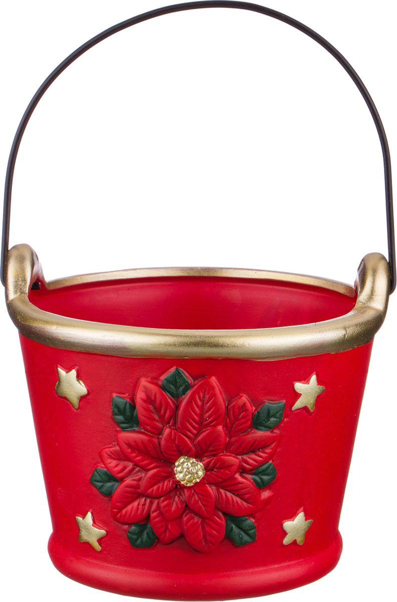 Ваза-кашпо Lefard, цвет: разноцветный, 14 х 14 х 11,8 см lefard ваза dikla 26 см