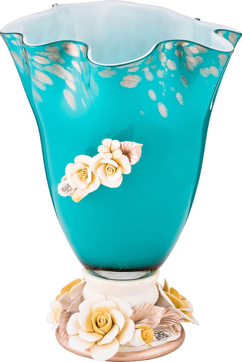 Ваза Lefard Флорентина, цвет: разноцветный, 20 х 20 х 25,5 см