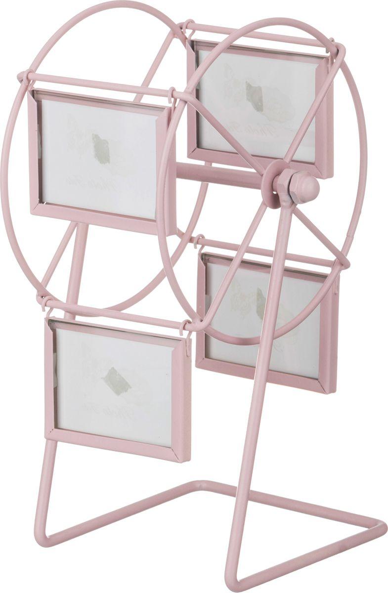 Фоторамка Lefard Карусель, цвет: розовый, 13,5 х 22 х 14 см lefard фоторамка vortigern 3х37х43 см