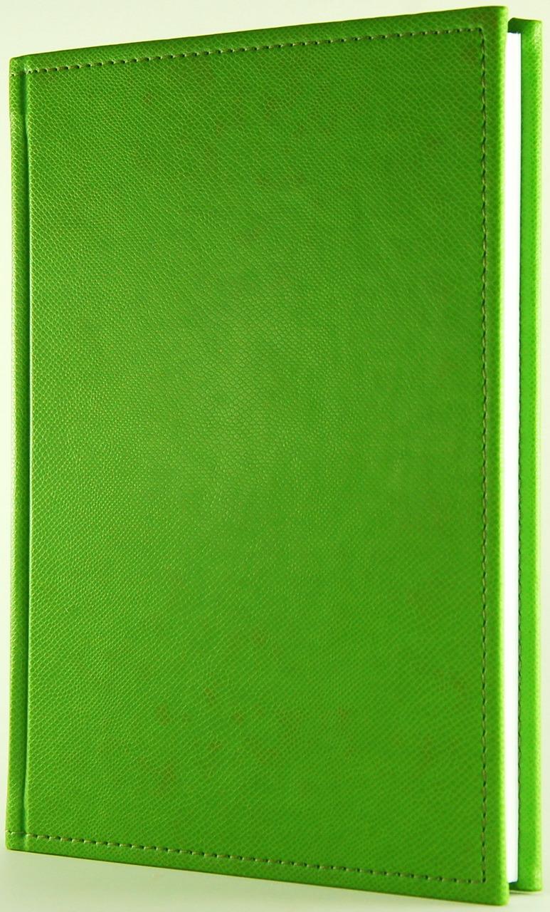 Ежедневник Planograf DIARIO, недатированный, формат А5, цвет: салатовый, 256 страниц ежедневник а5 288стр н датир maestro de tiempo novela синий термо к з 8318332