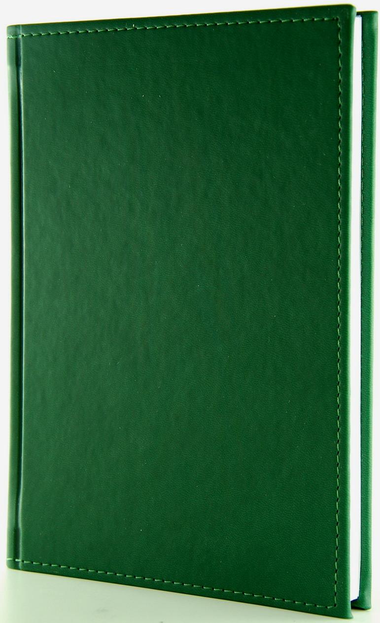 Ежедневник Planograf Sorrento, недатированный, формат А5, цвет: зеленый, 256 страниц ежедневник а5 288стр н датир maestro de tiempo novela синий термо к з 8318332
