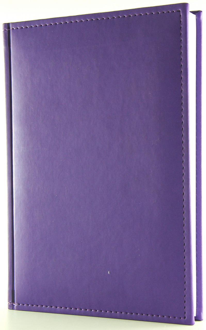 Ежедневник Planograf Sorrento, недатированный, формат А5, цвет: фиолетовый, 256 страниц ежедневник а5 288стр н датир maestro de tiempo novela синий термо к з 8318332