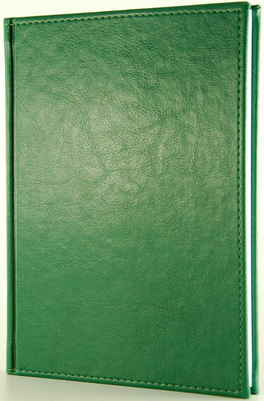 Ежедневник Planograf Venice, недатированный, формат А5, цвет: зеленый, 256 страниц ежедневник nazareno gabrielli flatter а5 145 205 мм зеленый на 2014 год