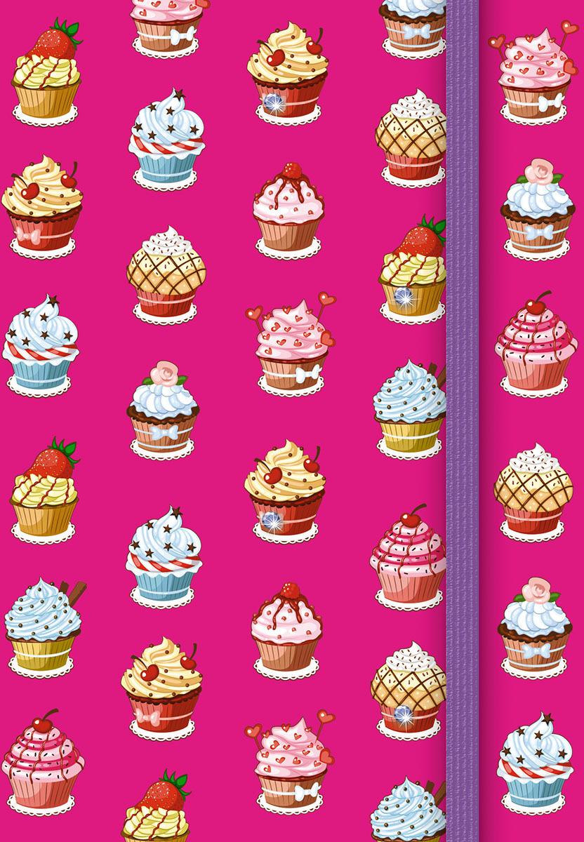 Записная книжка PlanO Десерт, формат А6, в линейку, 80 листов канц эксмо записная книжка лисички орнамент в линейку 80 листов формат а6