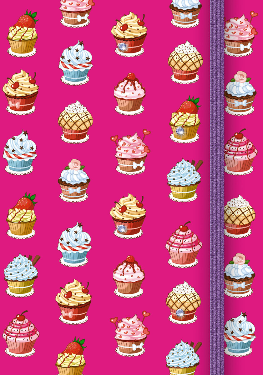 Записная книжка PlanO Десерт, формат А7, в линейку, 80 листов записная книжка все дороги ведут в париж 70 листов