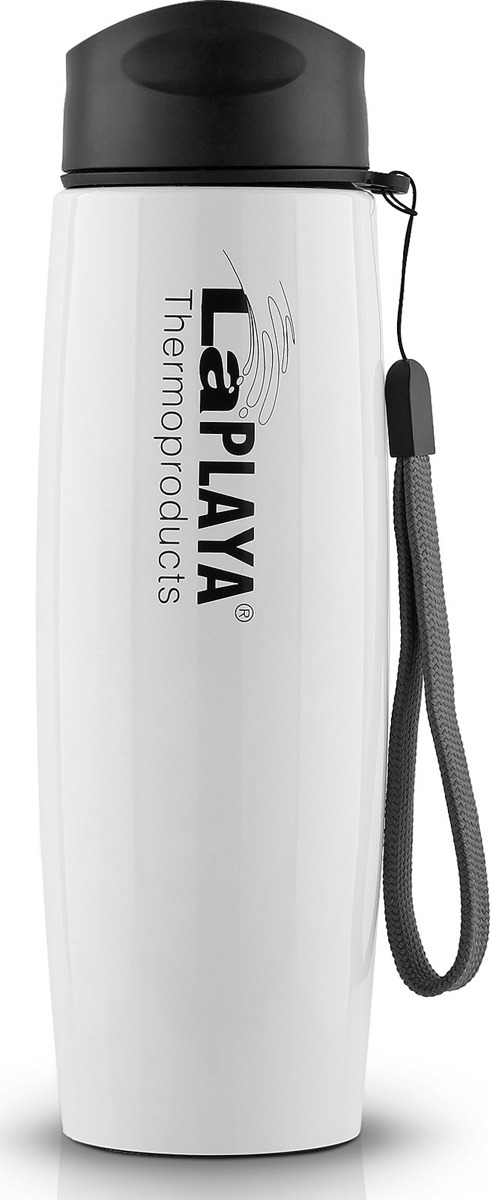 Термокружка LaPlaya Travel Mug, цвет: белый, 500 мл термос miessa цвет белый синий коричневый 500 мл