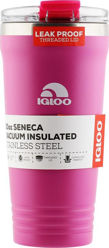 Термос Igloo Seneca, цвет: сиреневый, 900 мл igloo сумка термос igloo pm gripper 22 красный 16 5 л mcw01ix