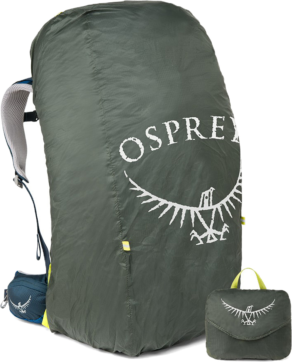 купить Накидка на рюкзак Osprey Ultralight Raincover, цвет: темно-серый, 75-100 л недорого