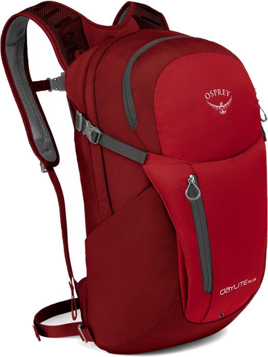 Рюкзак Osprey Daylite Plus, цвет: красный, 20 л osprey рюкзак daylite 13л black