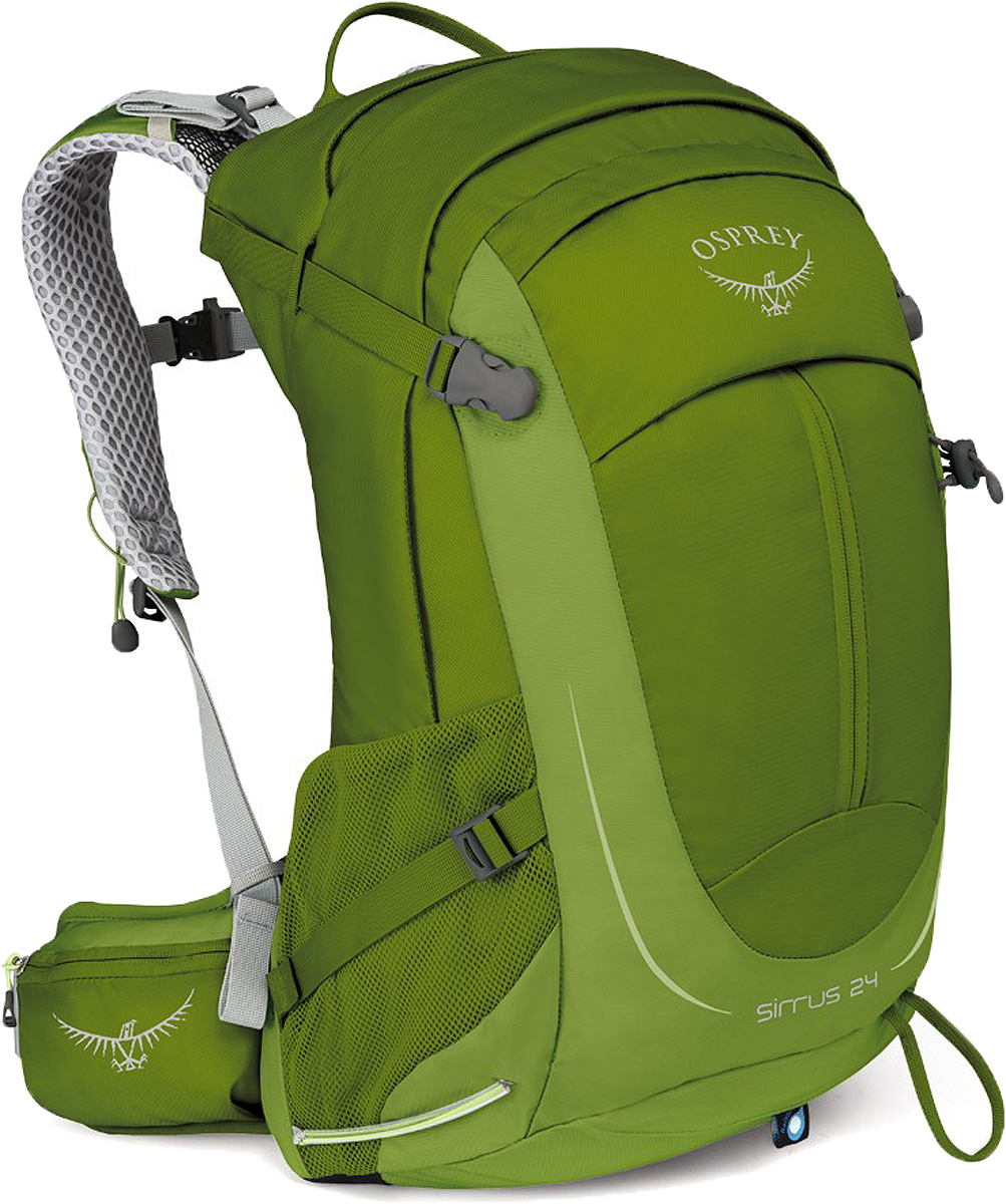 Рюкзак Osprey Sirrus 24, цвет: зеленый, 24 л osprey рюкзак sirrus 26 stealth grey