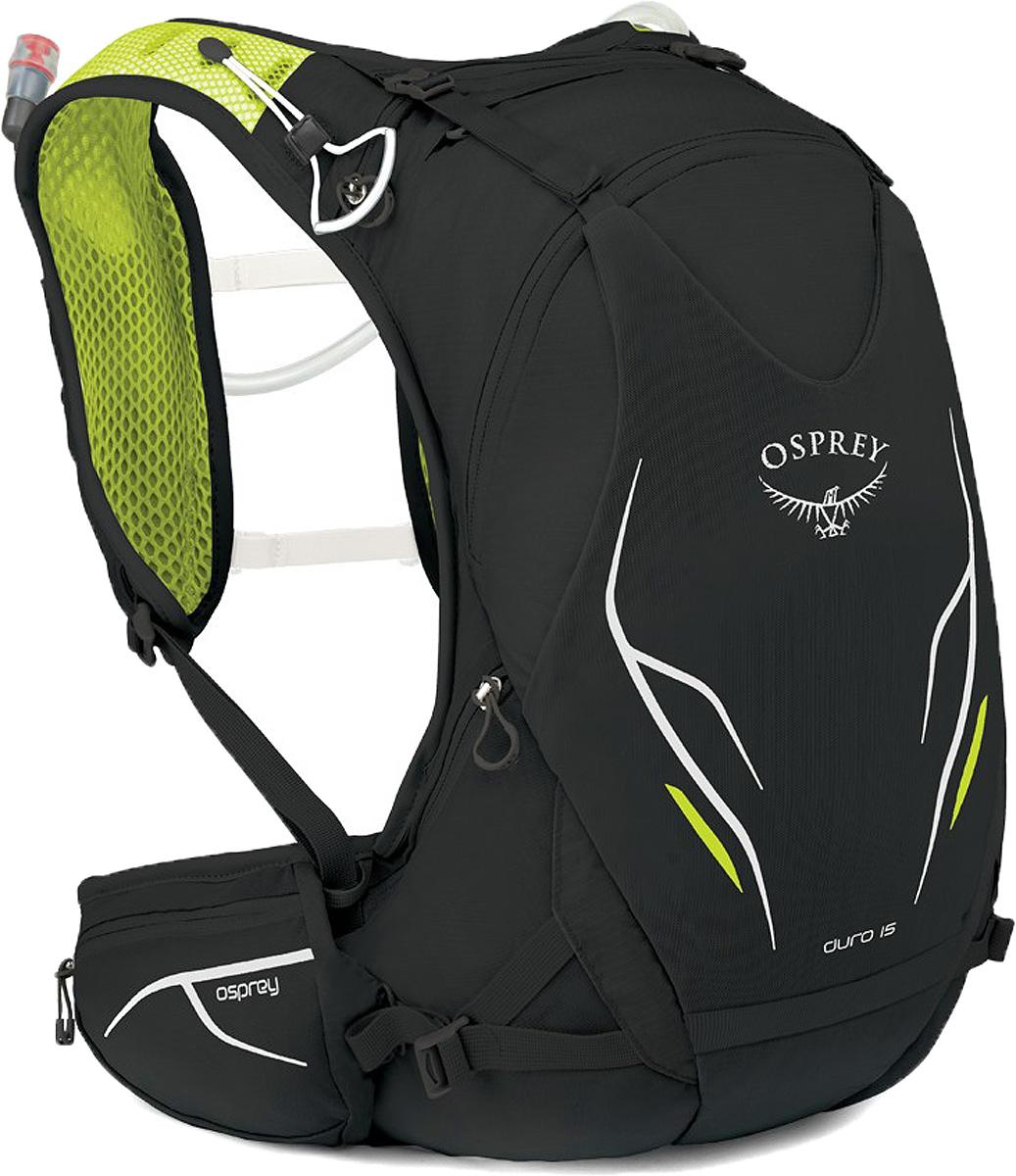 Рюкзак Osprey Duro 15, цвет: черный, 15 л