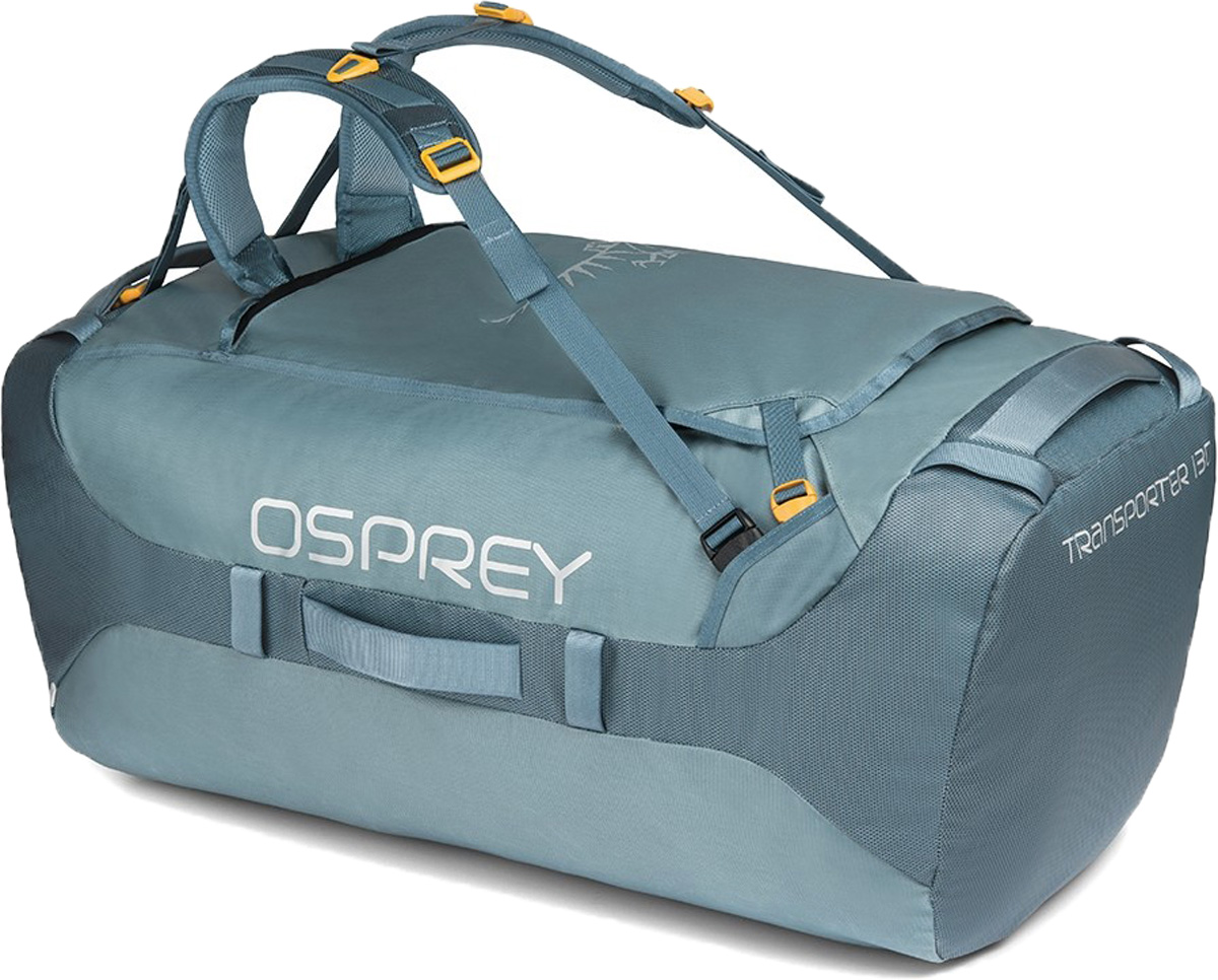 Сумка дорожная Osprey Transporter 130, цвет: светло-серый, 130 л