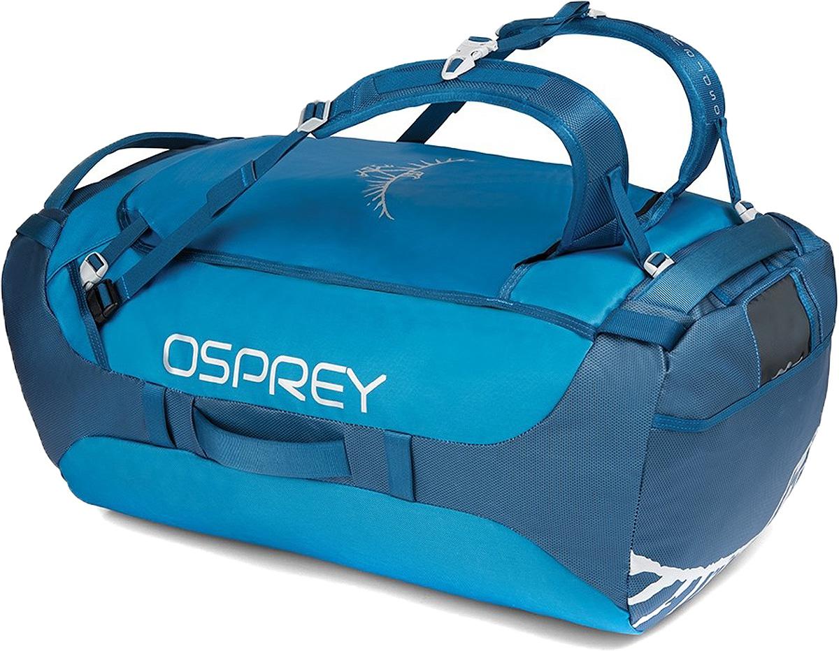 Сумка дорожная Osprey Transporter 95, цвет: синий, 95 л