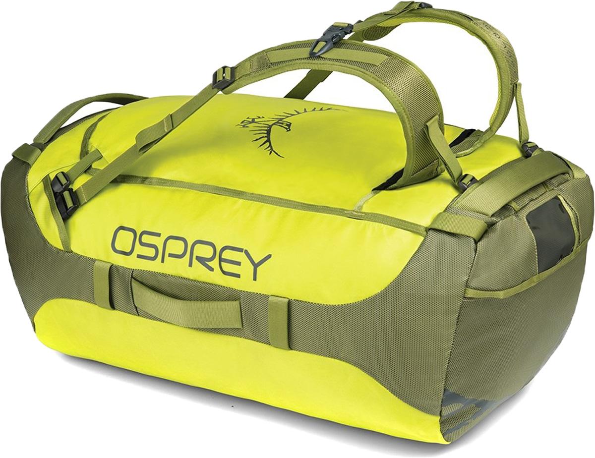 Сумка дорожная Osprey Transporter 95, цвет: желтый, 95 л