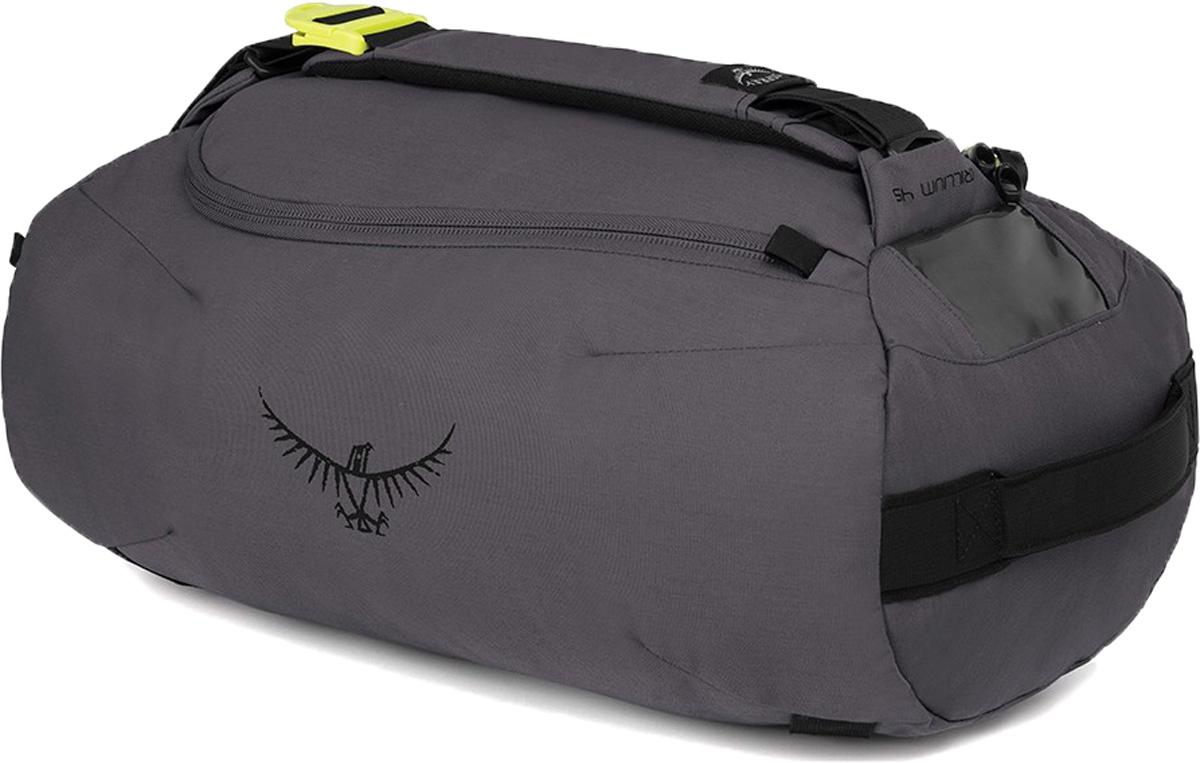 Сумка дорожная Osprey Trillium 45 Duffel, цвет: темно-серый, 45 л osprey сумка duro handheld silver squall