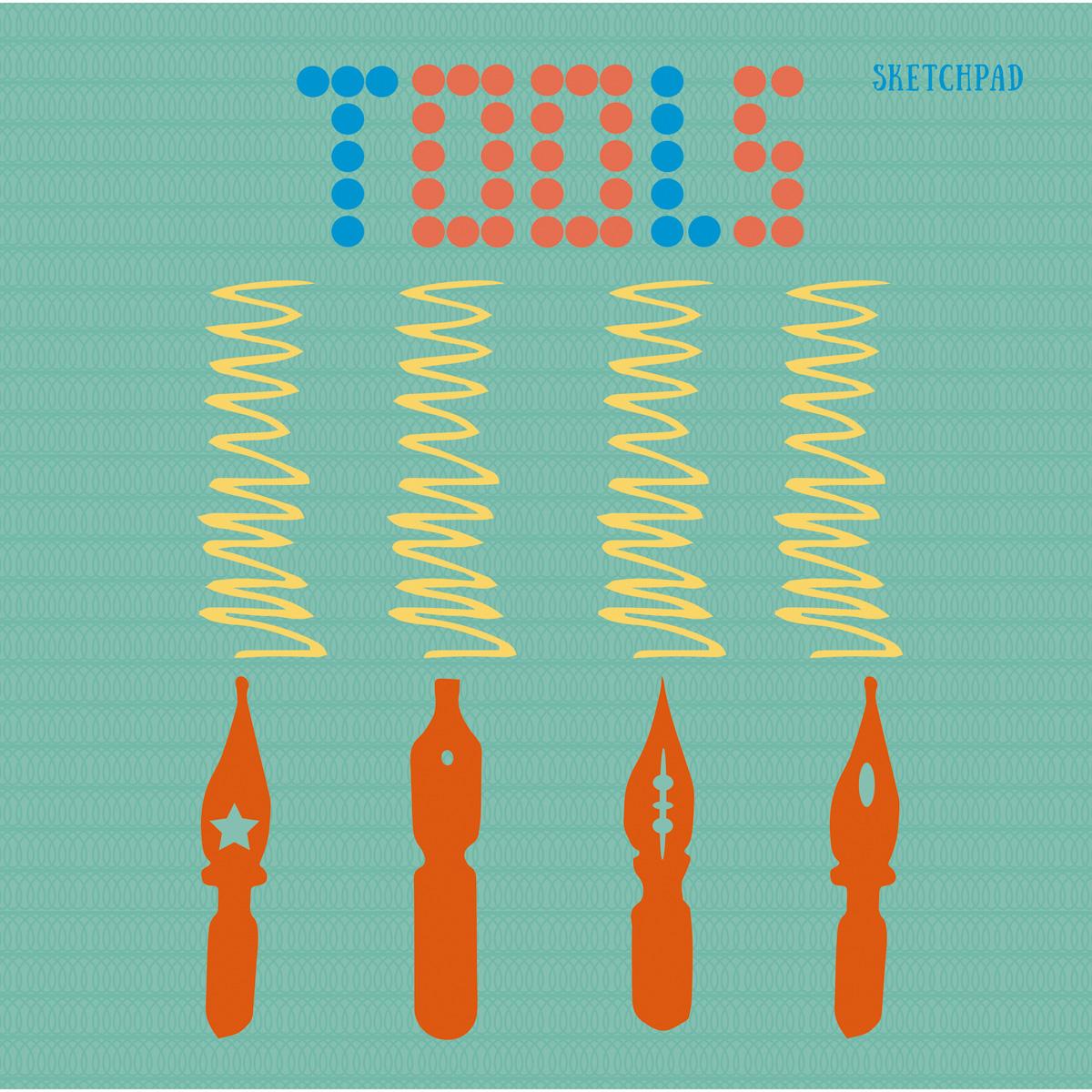 Скетчбук Listoff Проба пера, 40 листов, 20,5 х 20,4 см listoff скетчбук цветовой калейдоскоп 100 листов